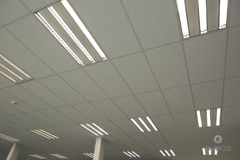 instalacion de techo con iluminacion